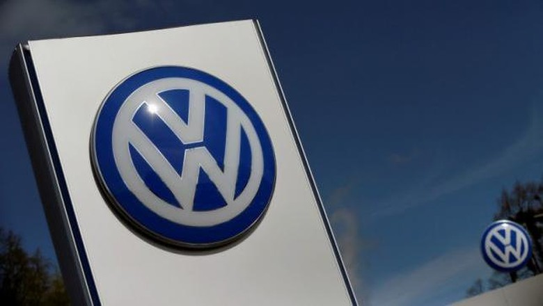 Logo VW Foto: Reuters/Hannibal Hanschke