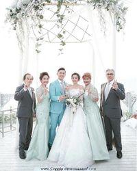 Pernikahan Samuel Zylgwin dan Franda yang Digelar di Bali