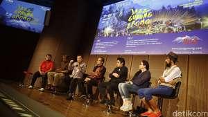 Kolaborasi Musik dan Panorama Alam di Jazz Gunung 2015