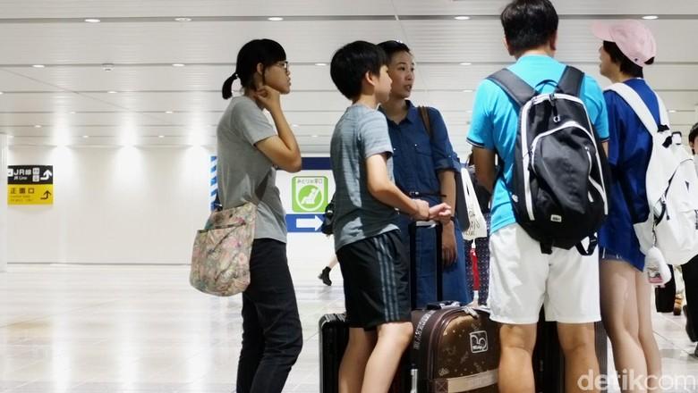 Ilustrasi turis China (Dikhy Sasra/detikTravel)