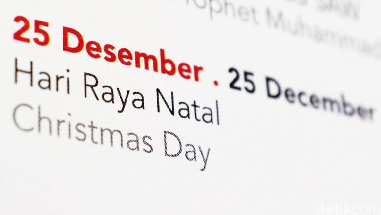 Kalender Natal dan Tahun Baru. dikhy sasra/ilustrasi/detikfoto