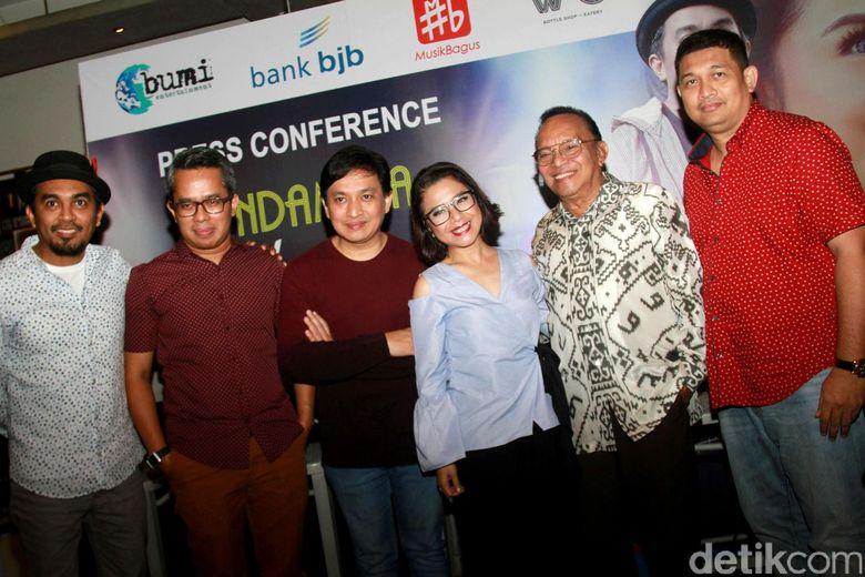 Konser bertajuk Tanda Mata Glenn Fredly untuk Ruth Sahanaya akan digelar di Balai Sarbini, Jakarta. Pool/Gus Mun/detikFoto.