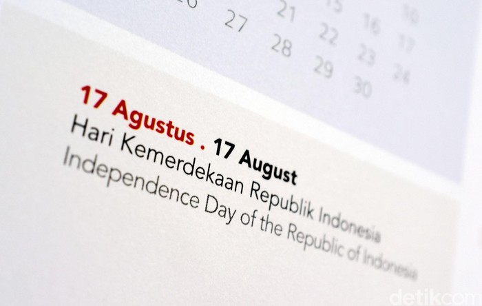 Kalender HUT RI 17 agustus. dikhy sasra/ilustrasi/detikfoto