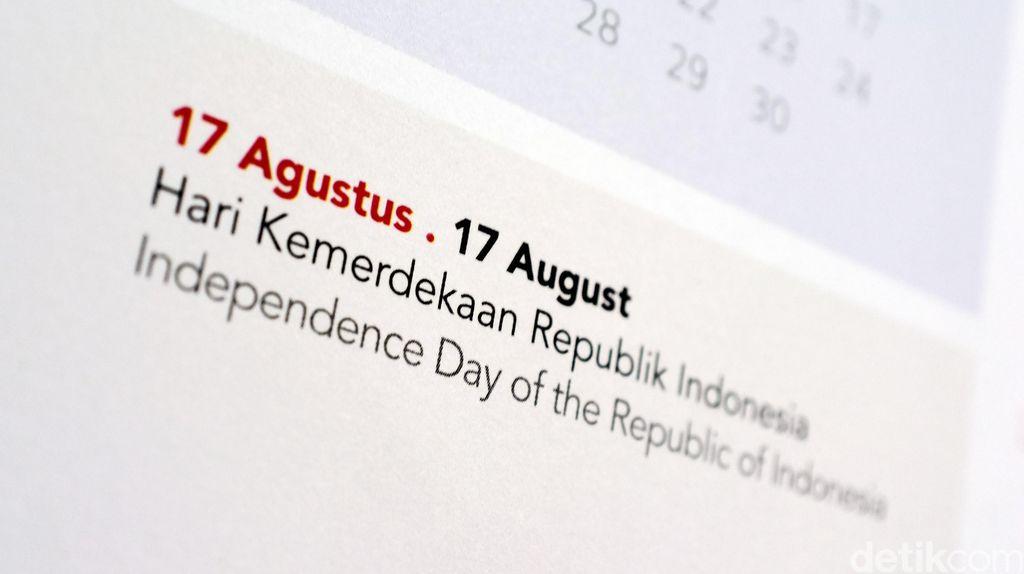 Jadwal Libur Bulan Agustus, Hari Kemerdekaan Tetap Dirayakan Hari Selasa?