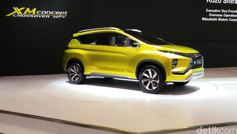 Mitsubishi XM Concept (Foto: Rangga Rahadiansyah)