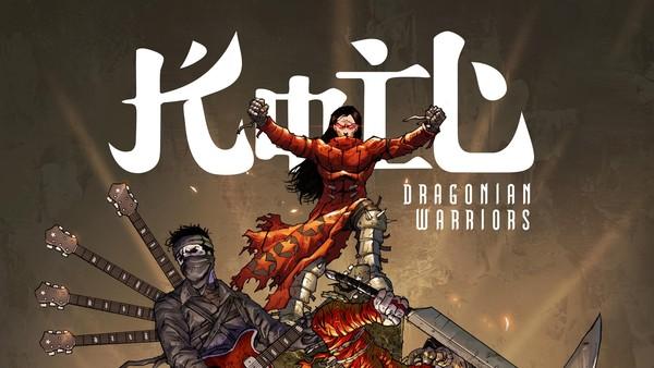 Koil Luncurkan Komik Dragonian Warriors di Ajang Popcon Asia