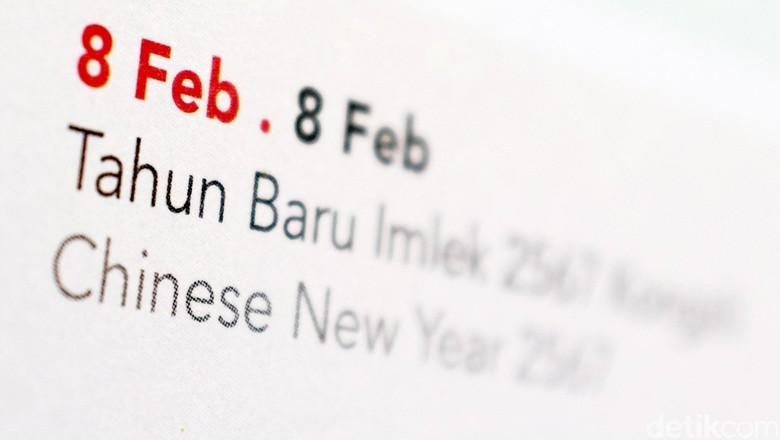 Kalender Imlek . dikhy sasra/ilustrasi/detikfoto