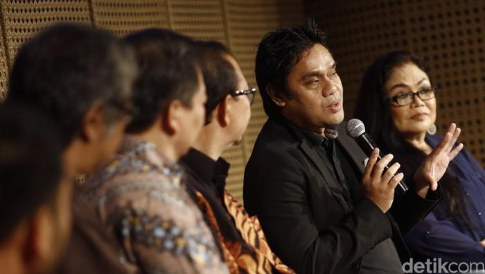 Prekson Jazz Gunung Bromo 2016 digelar di Galeri Indonesia Kaya, Kamis (11/8/2016) dihadiri oleh pendiri Jazz Gunung Sigit Pramono, Butet Kertaredjasa dan para pengisi acara seperti Dwiki Dharmawan, Ermy Kulit, serta The Groove.