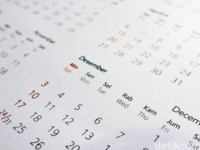 Kalender tahunan. dikhy sasra/ilustrasi/detikfoto
