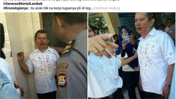Guru yang Dipukul Hingga Berdarah Dilaporkan Pelaku karena Tampar Anaknya
