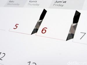 Daftar Hari Libur dan Cuti Bersama 2021, Tanggal Merah Januari-Desember