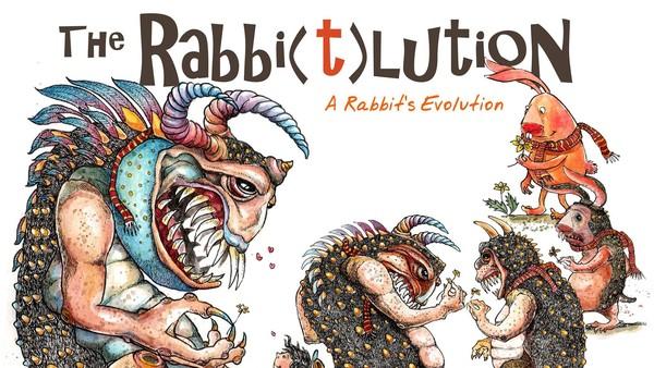 Ilustrator Evi Shelvia Perkenalkan Monster The Rabbi(t)Lution