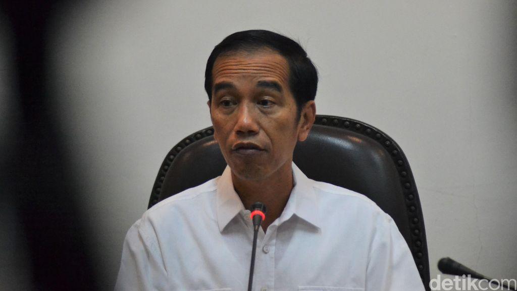 Jokowi Minta Menteri Gercep Antisipasi Risiko Gagal Panen