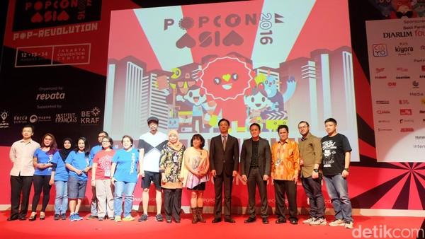 Bekraf Kampanyekan Local Now, Global Later di Pembukaan Popcon Asia