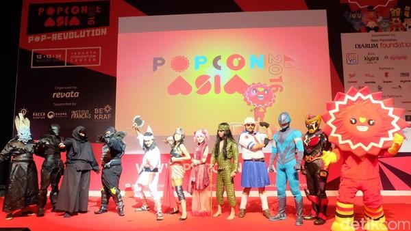 Resmi Dibuka, Jagoan Lokal Meriahkan Pembukaan Popcon Asia 2016