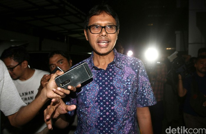 Irwan Prayitno, Gubernur Sumatera Barat mantan bakal cawapres Prabowo, kini diinterpelasi Gerindra. (Agung Pambudhy/detikcom)