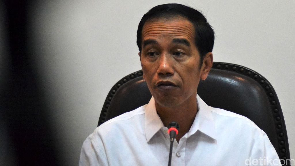 RI Dilanda Kemarau, Jokowi Minta Stok Pangan Dijaga