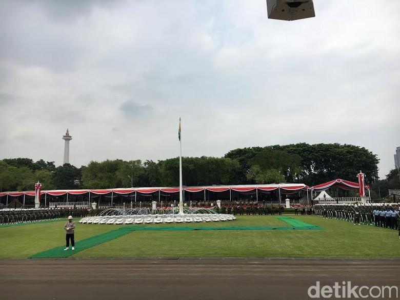 Istana Gelar Latihan Persiapan Peringatan HUT ke-71 Kemerdekaan RI
