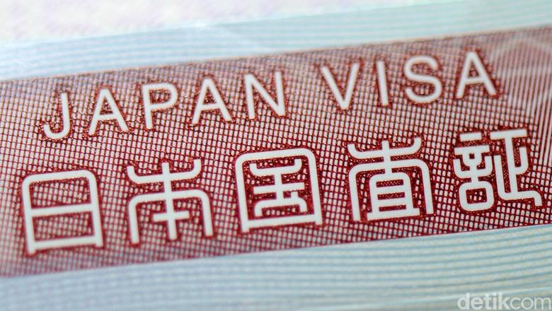 Ilustrasi Visa Jepang