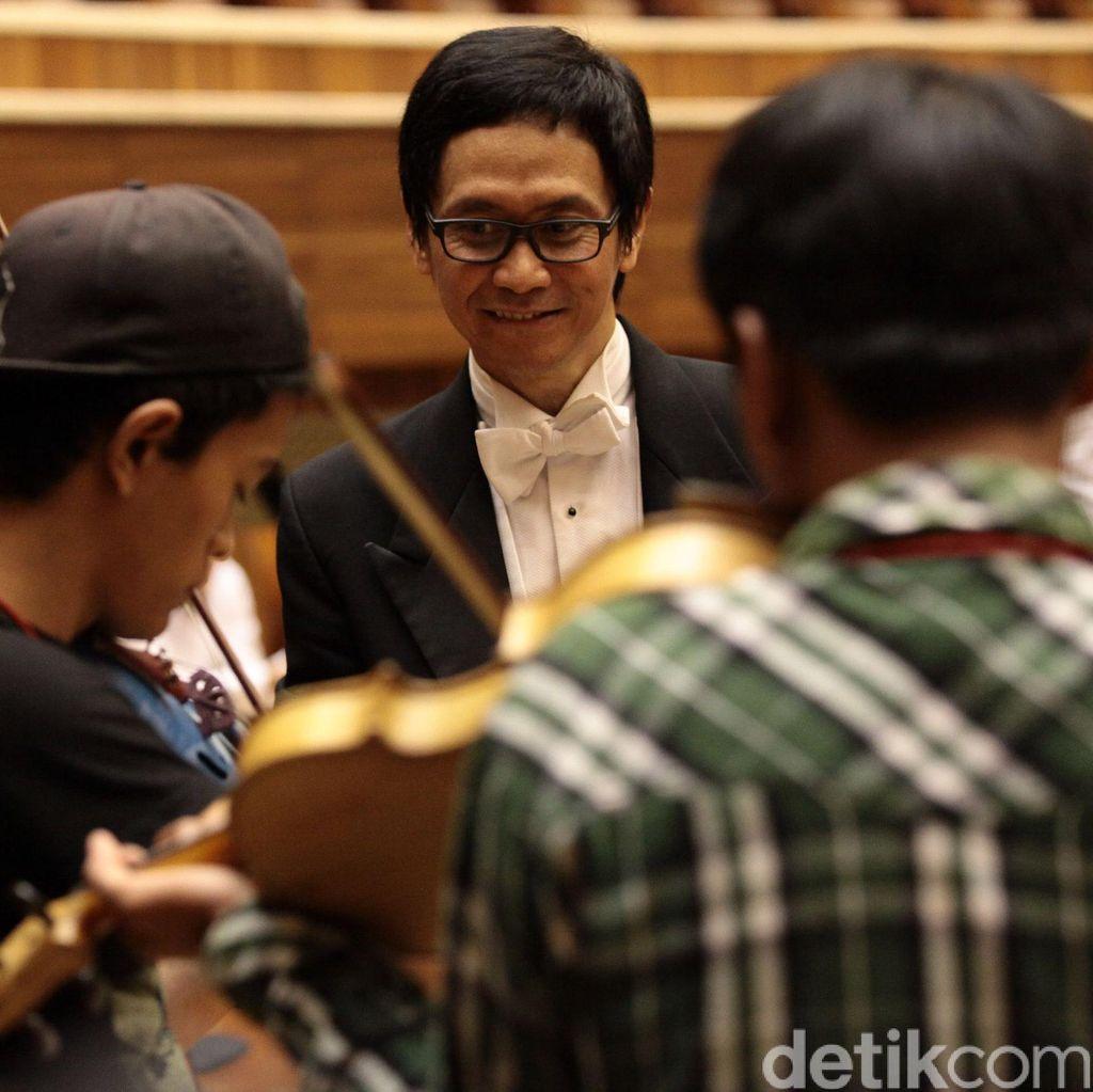 Addie MS Bicara soal Sekolah Musik Dapat Cetak Musisi