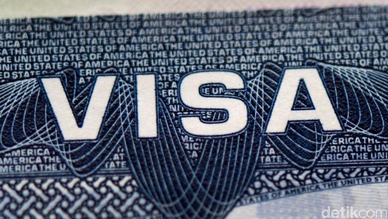 Foto: Ilustrasi Visa AS (Ari Saputra/detikTravel)