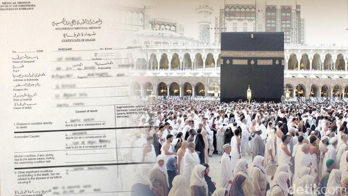 Ilustrasi Jemaah Haji Meninggal Saat Haji