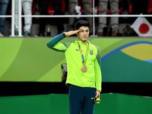 Saat Atlet Beda Negara Pamer Kemesraan di Olimpiade Rio 2016