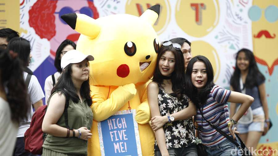 Begini Gaya Kekinian Penonton di We The Fest 2016