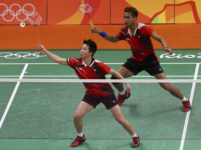 Ilustrasi badminton (Foto: REUTERS/Marcelo del Pozo)