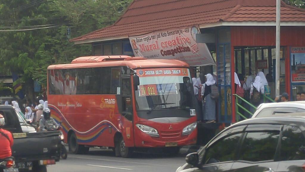 Usai Jam Malam di Pusat Kota, Kini Operasional Bus Trans Semarang Dikurangi