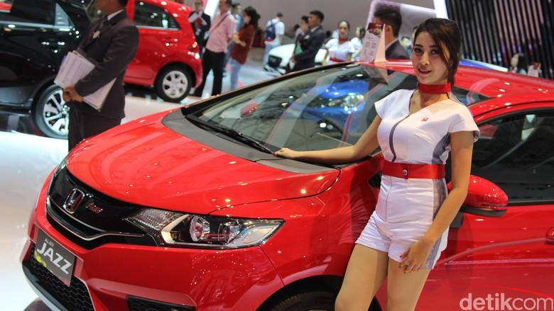 Booth Honda di GIIAS 2016 (Foto: Rangga Rahadiansyah)