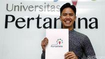 Pebalap Ali Adrian Jadi Duta Universitas Pertamina