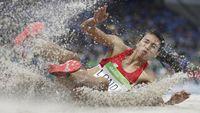 Maria Londa Terjerat Kilau Pasir di Lintasan Atletik
