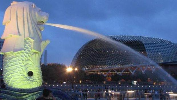 Merlion ikon Singapura