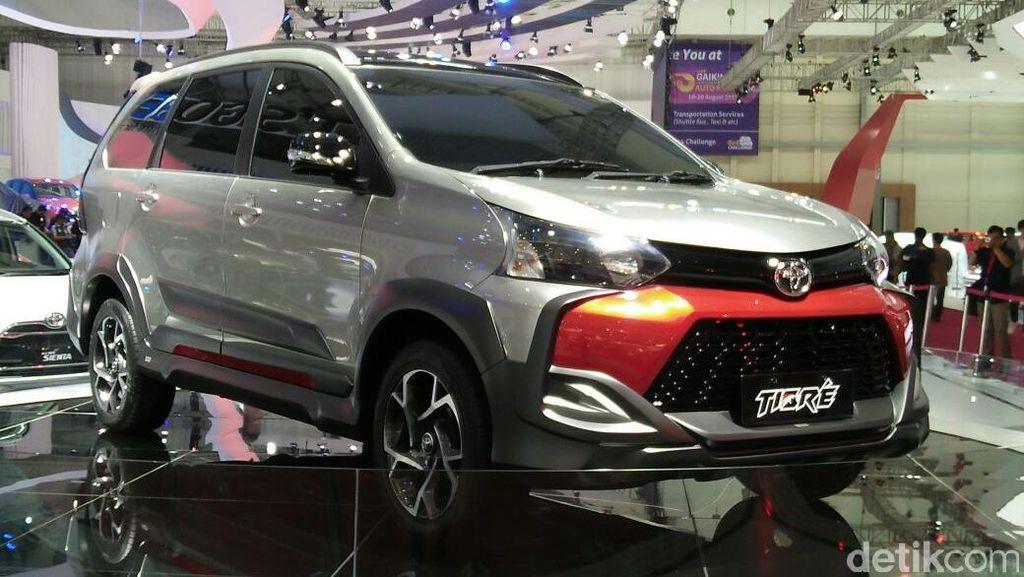Rupa-rupa Tampang Toyota Avanza