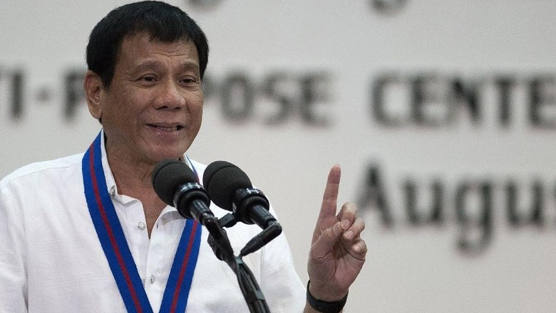 Dikritik Soal Tembak Mati Penjahat, Duterte Ingatkan PBB Jangan Ikut Campur