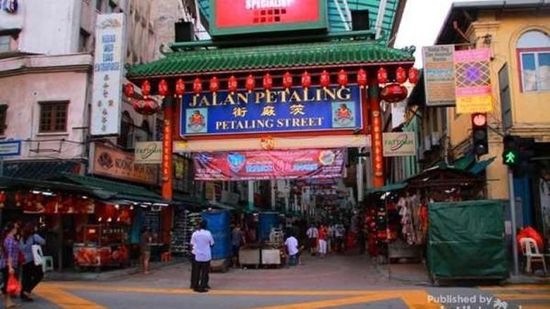 Foto: Kawasan Petaling Street untuk liburan dadakan ke Kuala Lumpur (Agung Puma/dTraveler)
