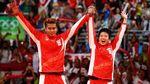 Tontowi Ahmad Gantung Raket, Yuk Lihat Lagi Aksinya buat Merah Putih