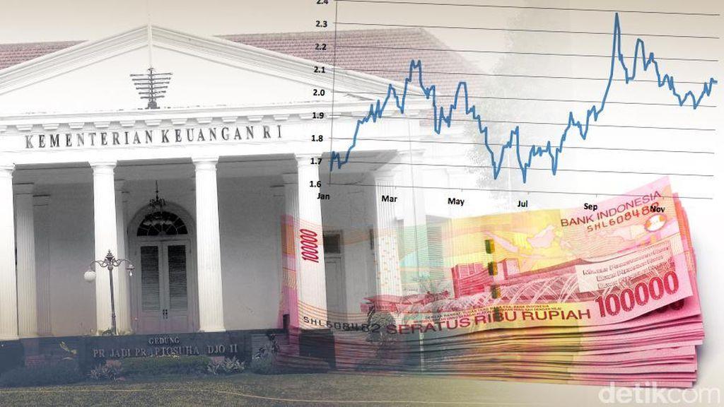 Utang Pemerintah di Mei 2018 Turun Jadi Rp 4.169 T