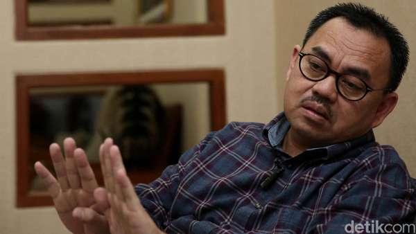 Sudirman Tak Pilih Prabowo, NasDem: Dia Galau