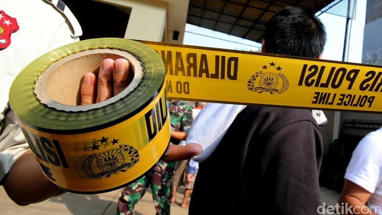 Terobos Mapolres Indramayu, 2 Orang Tak Dikenal Lemparkan Bom Panci