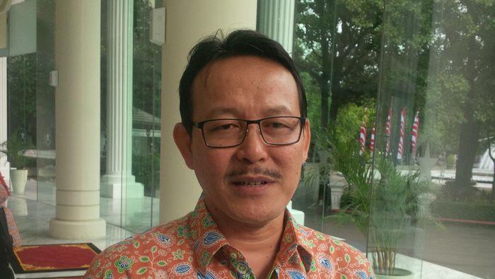 Dirut BPJS Kesehatan Fahmi Idris/Foto: Ferdinan/detikcom