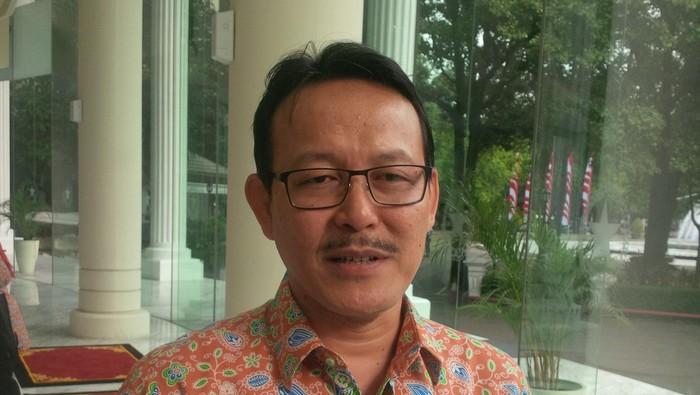 Direktur Utama BPJS Kesehatan, Fachmi Idris. Foto: Ferdinan/detikcom