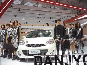 Nissan March Hasil Kolaborasi dengan Desainer Fashion