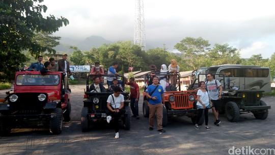 Bertualang Bareng Jikustik di Gunung Merapi