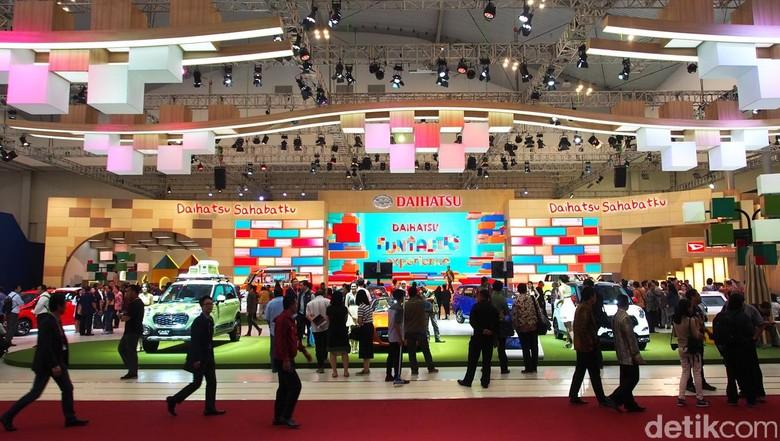 Booth Daihatsu di GIIAS 2016