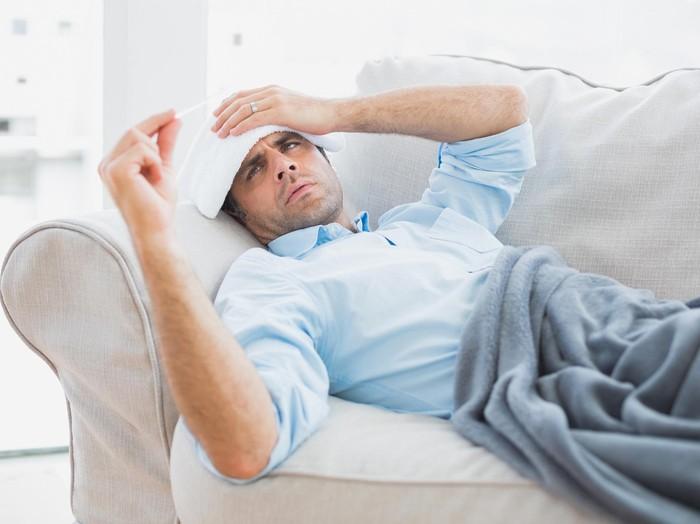 Batuk, muntah dan demam, apakah gejal DBD?/Foto: Thinkstock