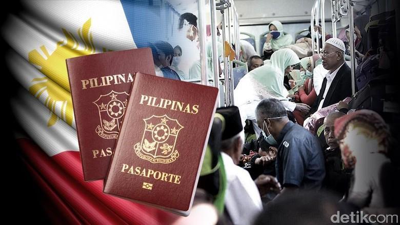 Fokus Haji Indonesia Paspor Filipina