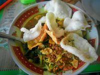 Makanan khas Jawa Timur.