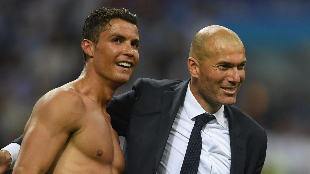 Kapanpun Ronaldo dan Zidane Boleh Pulang ke Real Madrid